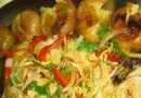 Bacalhau à Beira-Alta com batata