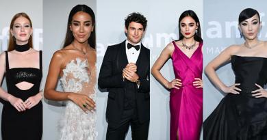 Atriz Marina Ruy Barbosa e estrelas internacionais brilham no amfAR durante 74º Festival de Cinema de Cannes