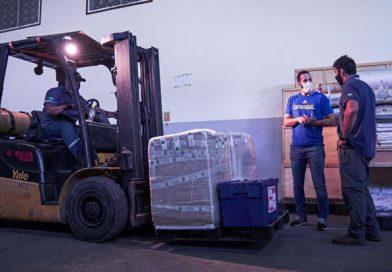Em operação logística mais complexa de sua história, COB envia 20 contêineres com materiais para os Jogos Olímpicos de Tóquio