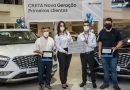 Hyundai homenageia primeiros compradores<br>do Creta Nova Geração